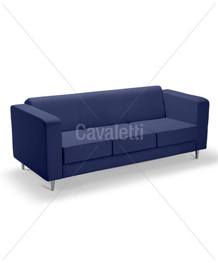Cavaletti Box – Sofá 12105 de 3 lugares