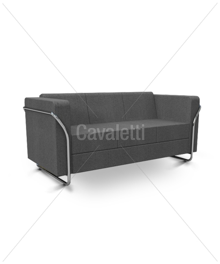 Cavaletti Box – Sofá 12205 de 3 lugares