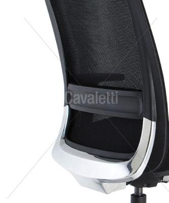 Cavaletti C4 – Poltrona Presidente Giratória 29001 AC Syncron 3D