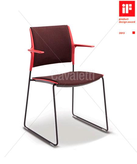 Cavaletti Go – Cadeira Aproximação 34006 Complete com braços