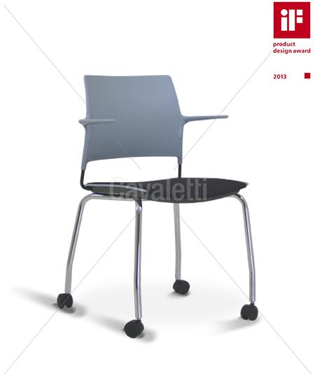 Cavaletti Go – Cadeira Aproximação 34006 P Soft com rodízios