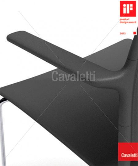 Cavaletti Go – Banqueta Alta 34020 soft com braços