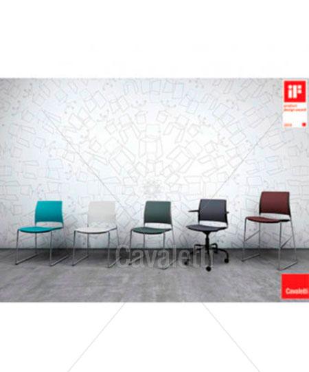 Cavaletti Go – Cadeira Aproximação 34006 Soft com braços