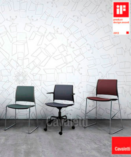 Cavaletti Go – Cadeira Giratória 34003 Basic