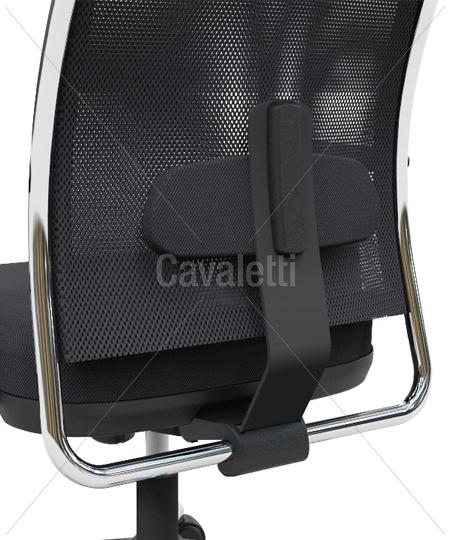 Cavaletti NewNet – Poltrona Presidente Giratória 16001 Syncron 3D