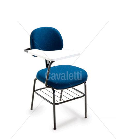 Cavaletti Start – Cadeira Secretária 4008 PU com prancheta