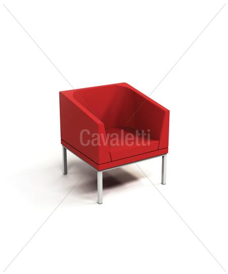 Cavaletti Talk – Poltrona Braço Duplo e Encosto 36505