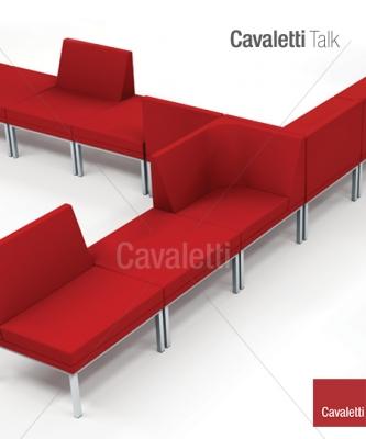 Cavaletti Talk – Sofá Central Encosto 36505