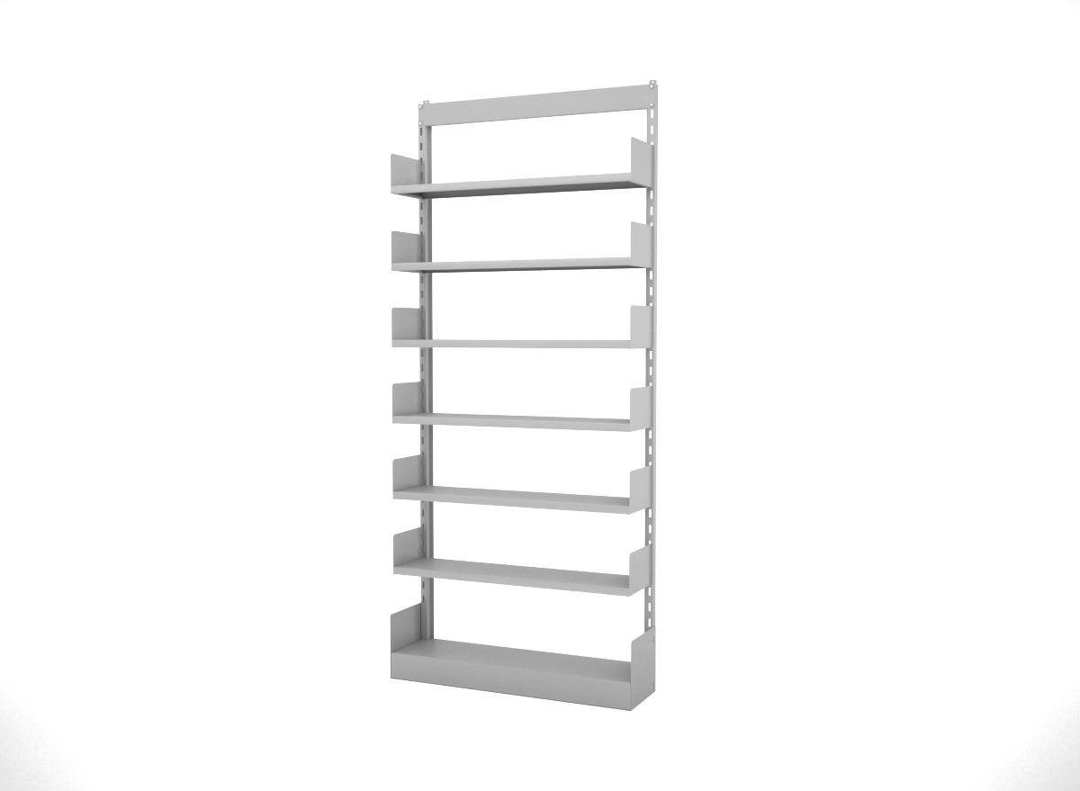 Estante Bibliotecária Simples Face EBS2300 com Base