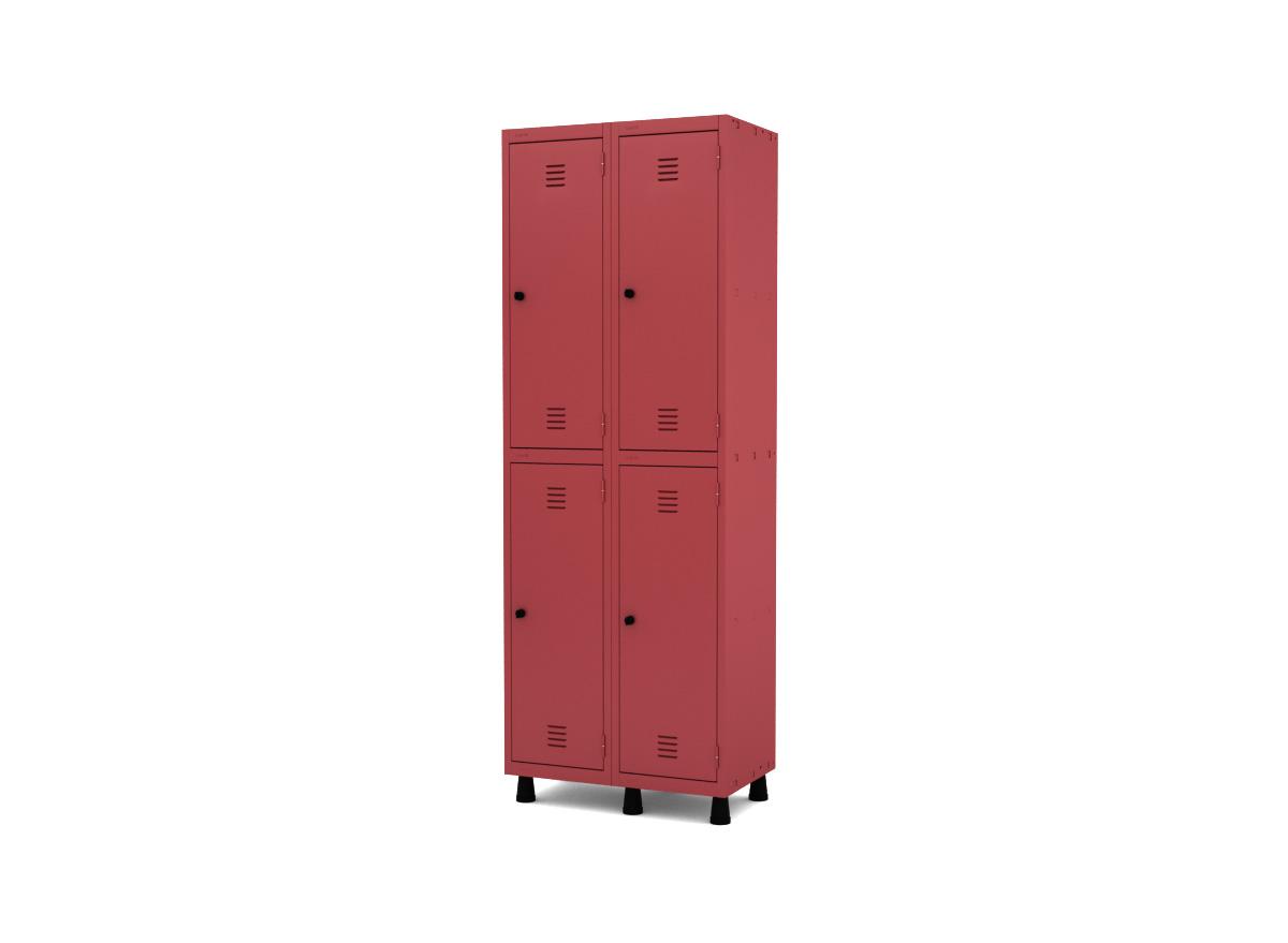 Roupeiro de Aço 4 Portas GRP/GRF 502-4