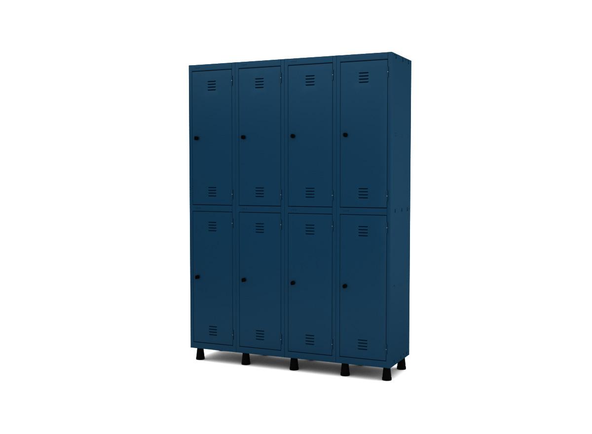Roupeiro de Aço 8 Portas GRP/GRF 504-8