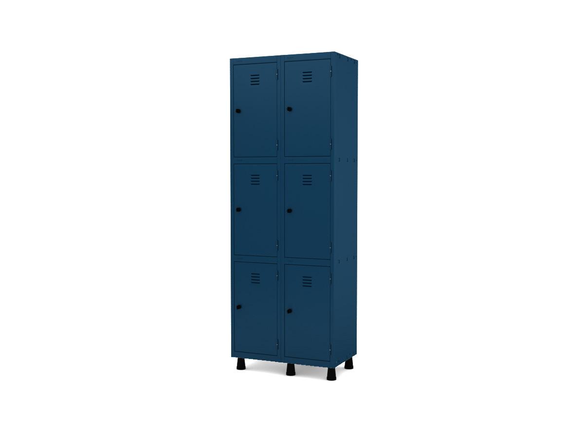 Roupeiro de Aço 6 Portas GRP/GRF 502-6