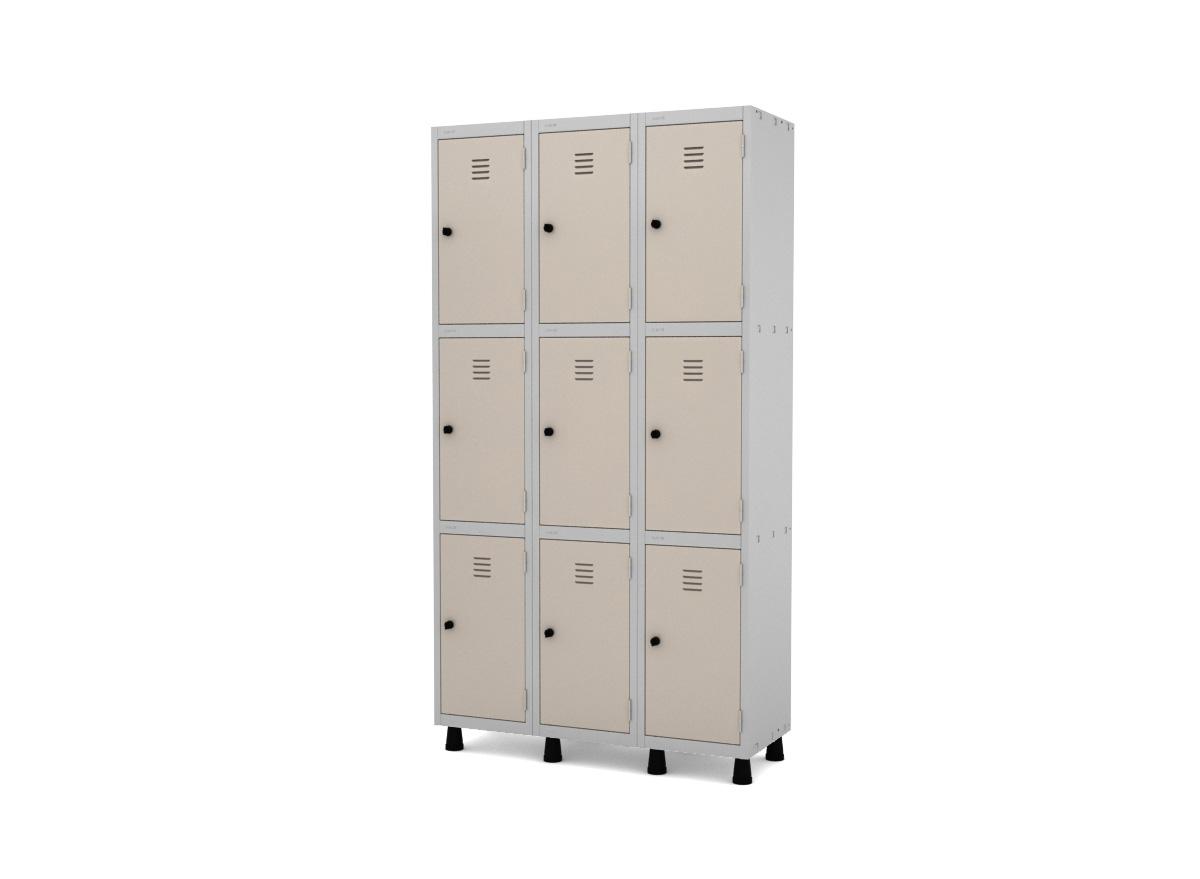 Roupeiro de Aço 9 Portas GRP/GRF 503-9