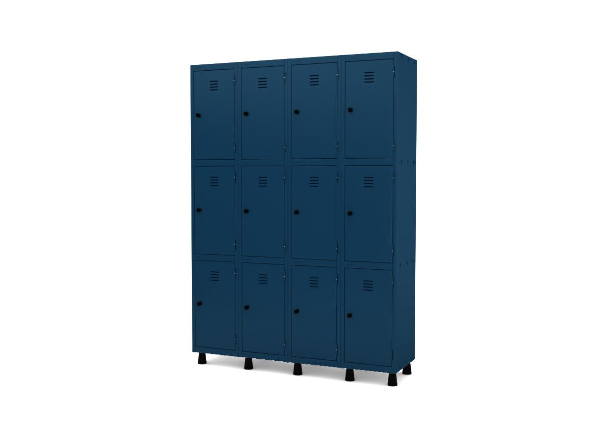 Roupeiro de Aço 12 Portas GRP/GRF 504-12