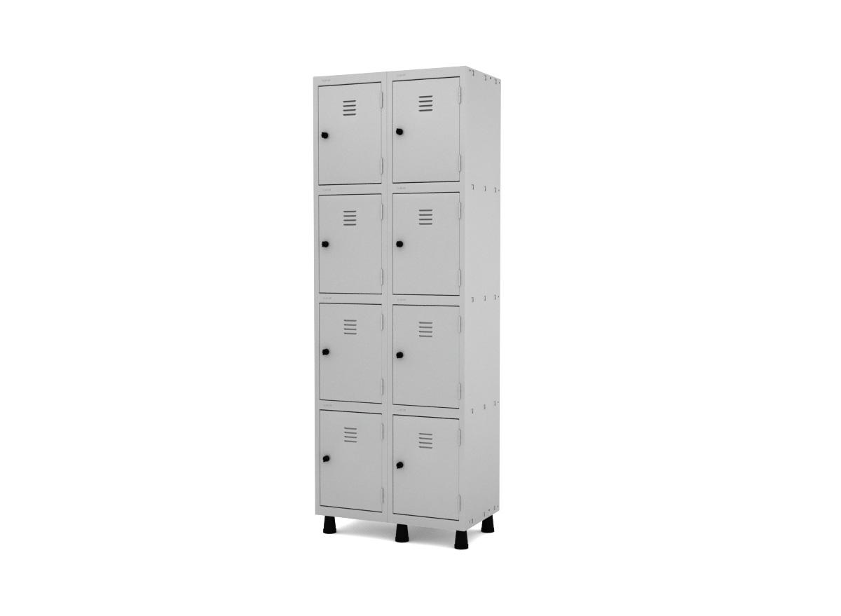 Roupeiro de Aço 8 Portas GRP/GRF 502-8
