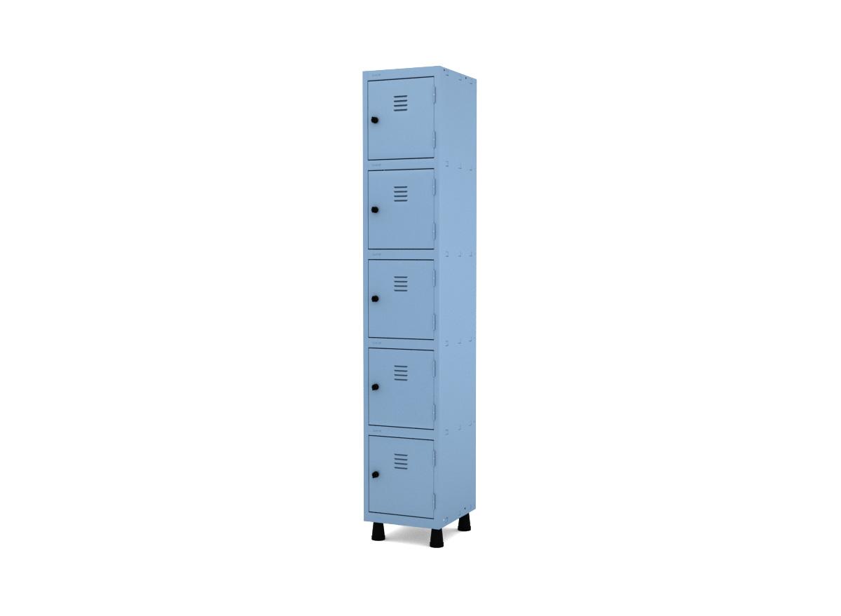 Roupeiro de Aço 5 Portas GRP 501-5